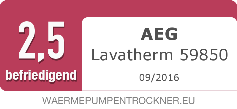 Testsiegel: AEG Lavatherm 59850 width=