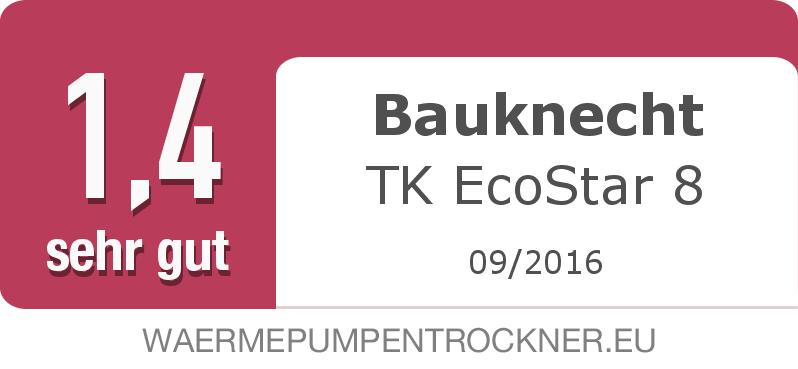 Testsiegel: Bauknecht TK EcoStar 8 width=