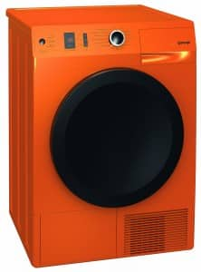 Waermepumpentrockner von Gorenje in Orange