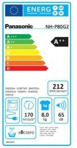 Energieskala Panasonic NH-P80G2WDE